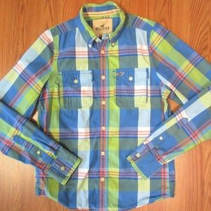 HOLLISTER By A&F Mens 100% COTTON CASUAL SHIRT